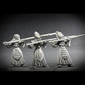 Elfen Jungferngarde Speerträger II