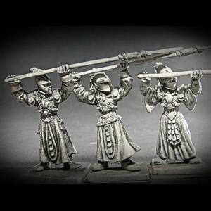 Elfen Jungferngarde Speerträger III