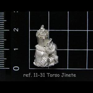 11-31 1-7 Torso Jinete
