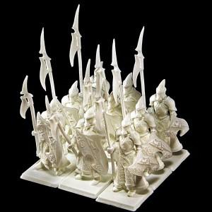 Dark Elf Lancers  · PLASTIC RESIN ·