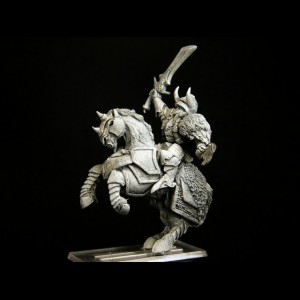 Héroe del Caos a caballo