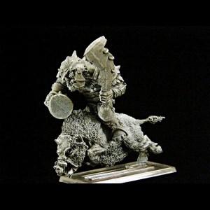 Orc Musician Boar Rider