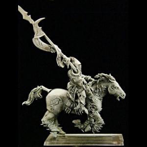Dunkelelfen leichte Kavallerie Standartenträger