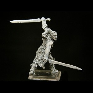 Héroe Silvano con Espadas