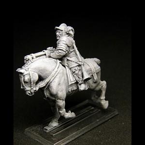 Mounted Arquebusier Musician