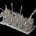 Dunkelelfen Leichte Kavallerie BOX  -  PLASTIC RESIN