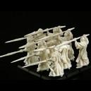 Veteranen Speerträger miniBox PLASTIC RESIN