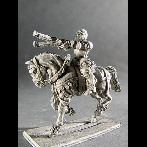 Imperial Light Cavalry with Gun V